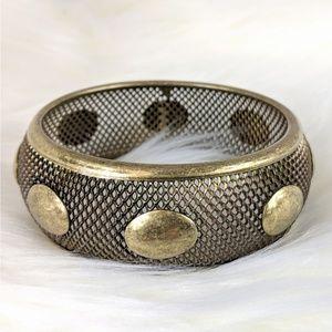 Antique Goldtone Bangle Bracelet